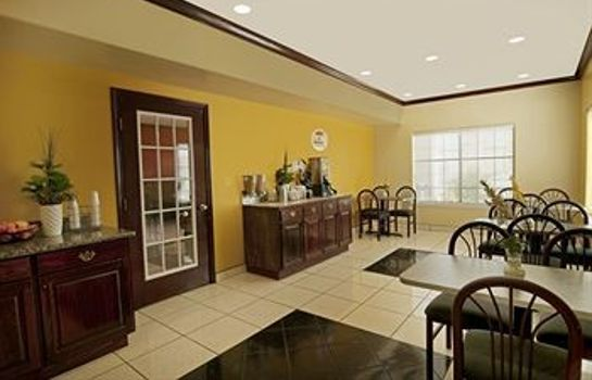 Sala de desayuno Texas Inn and Suites McAllen