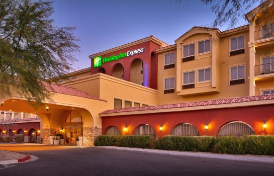 Buitenaanzicht Holiday Inn Express & Suites MESQUITE