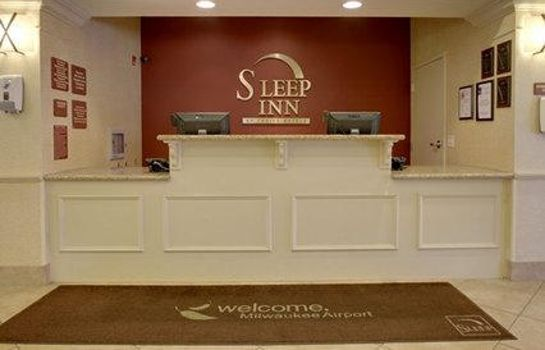 Hotelhalle Sleep Inn & Suites Airport