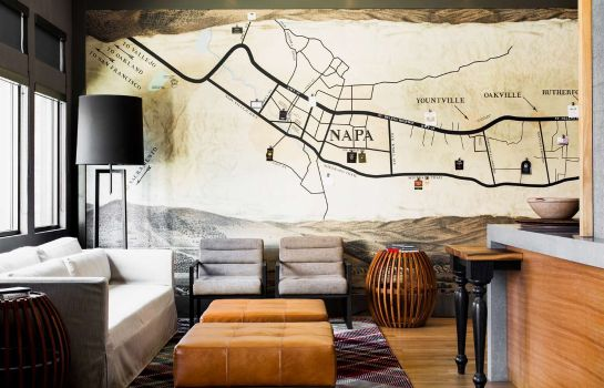 Hotelhalle Andaz Napa - a concept by Hyatt