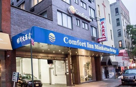 Vista exterior Comfort Inn Manhattan Bridge