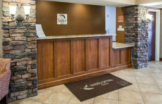 Hall de l'hôtel Sleep Inn & Suites Oakley