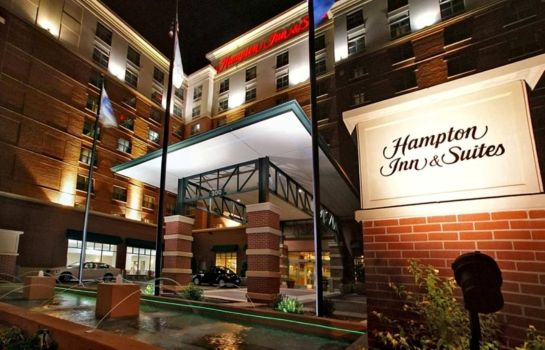 Außenansicht Hampton Inn - Suites Oklahoma City-Bricktown
