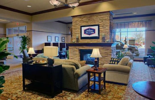 Hotelhalle Hampton Inn - Suites Oklahoma City-Bricktown