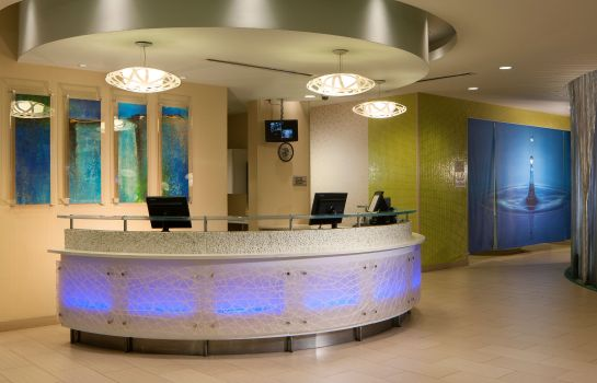 Hotelhalle SpringHill Suites Orlando at SeaWorld®