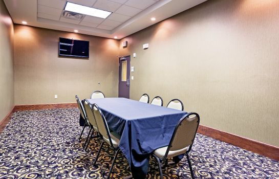 Conference room La Quinta Inn Ste Ft Worth NE Mall
