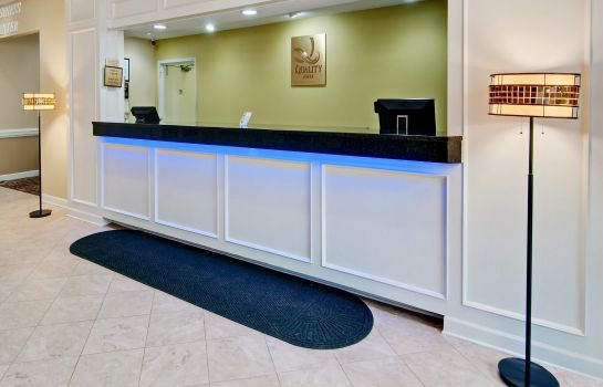 Hotelhalle Quality Inn Roanoke Airport