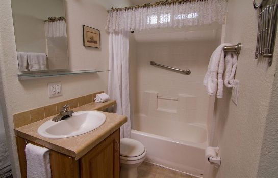 Cuarto de baño Arden Acres Executive Suites and Cottages