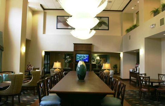 Hotelhalle Hampton Inn and Suites Savannah-Airport