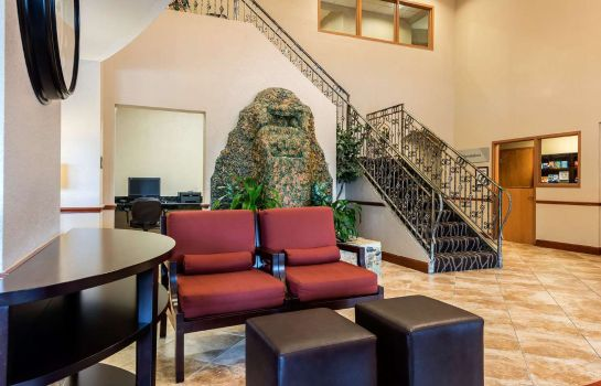 Hotelhalle Comfort Suites Tampa Airport North