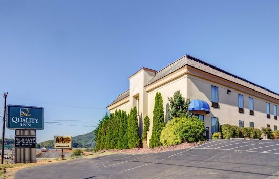 Außenansicht Quality Inn Troutville - Roanoke North
