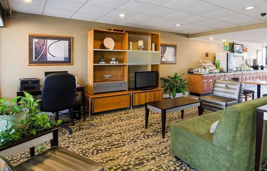 Hotelhalle Quality Inn Troutville - Roanoke North