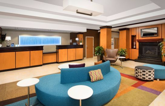 Hotelhalle Fairfield Inn & Suites Washington DC/New York Avenue