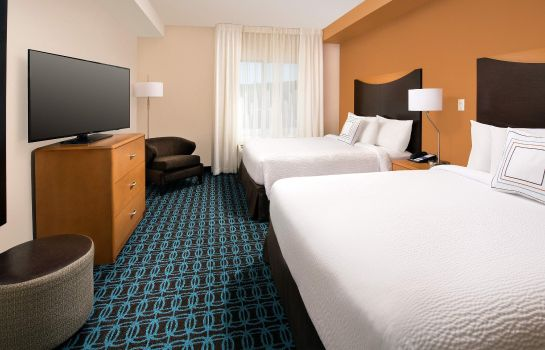 Zimmer Fairfield Inn & Suites Washington DC/New York Avenue