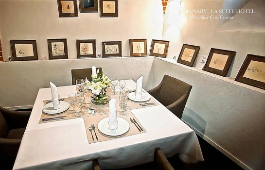 Restaurant The Granary La Suite Hotel