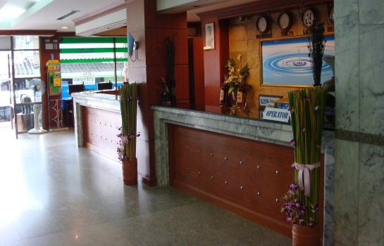 Reception Thai Hotel Krabi