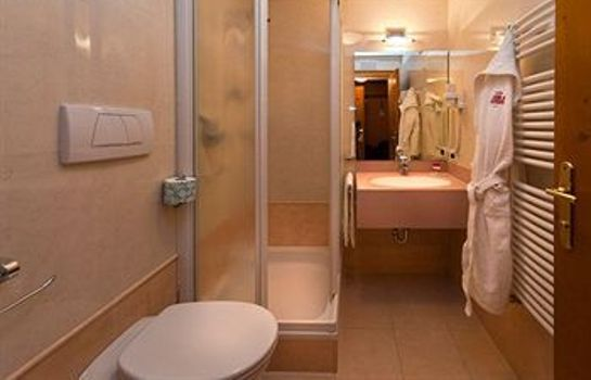 Bagno in camera Hotel Ladinia