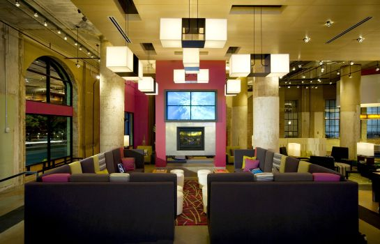 Hotelhalle Aloft Dallas Downtown