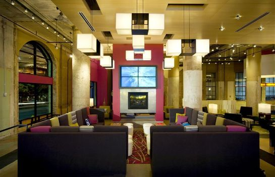 Hol hotelowy Aloft Dallas Downtown