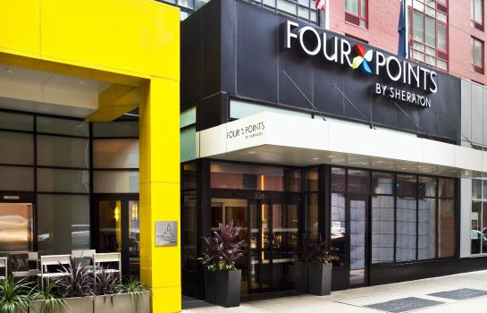 Außenansicht Four Points by Sheraton Midtown - Times Square