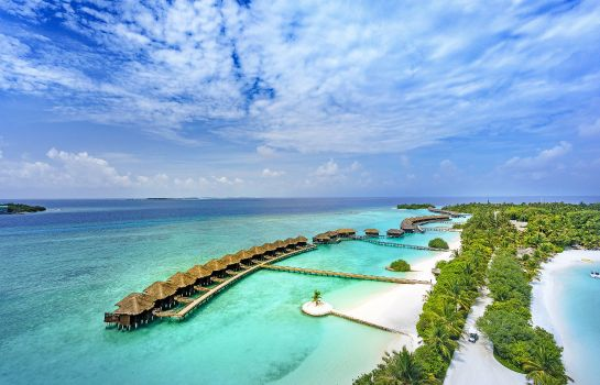 Exterior view Sheraton Maldives Full Moon Resort & Spa
