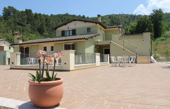 Terrasse Valle Rosa Country House