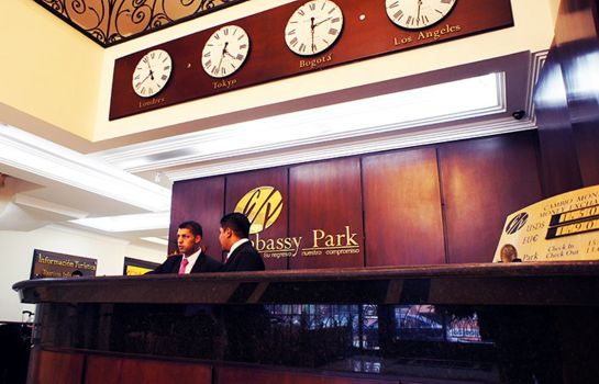 Reception Embassy Park Hotel