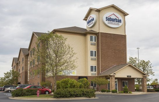 Exterior view Suburban Extended Stay Hotel Louisville  Suburban Extended Stay Hotel Louisville