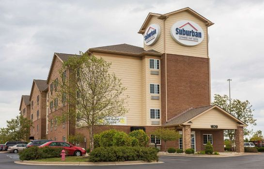 Vue extérieure Suburban Extended Stay Hotel Clarksville