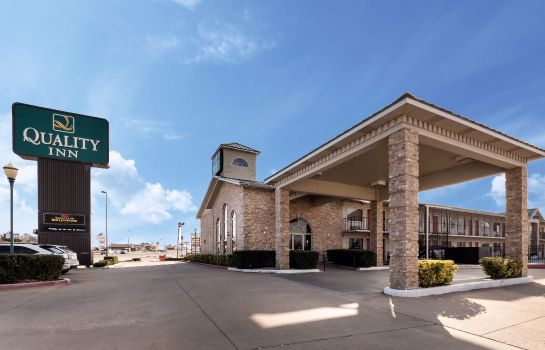 Exterior view Quality Inn Siloam Springs West
