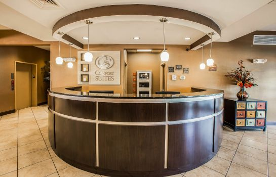 Lobby Comfort Suites At WestGate Mall