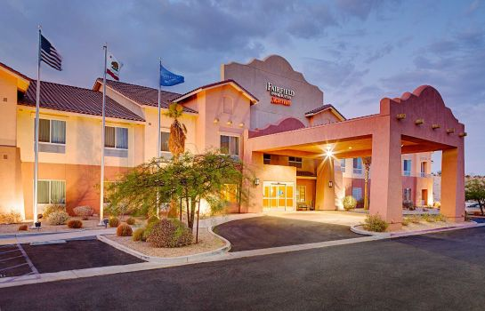 Außenansicht Fairfield Inn & Suites Twentynine Palms-Joshua Tree National Park