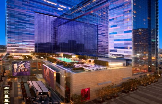 Exterior view JW Marriott Los Angeles L.A. LIVE
