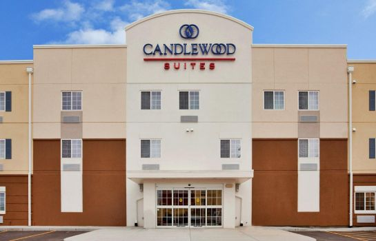 Außenansicht Candlewood Suites KANSAS CITY AIRPORT