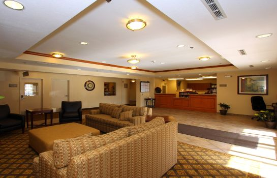 Hotelhalle Candlewood Suites KANSAS CITY AIRPORT