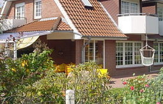 Exterior view Blumen-Villa Pension