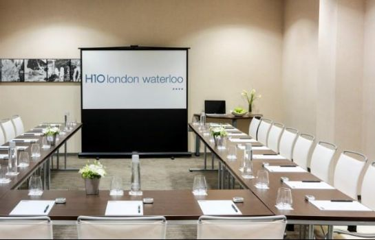 Sala de reuniones Hotel H10 London Waterloo