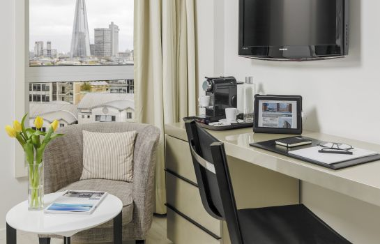 Doppelzimmer Komfort Hotel H10 London Waterloo