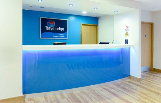Hotelhal TRAVELODGE LONDON CENTRAL TOWER BRIDGE
