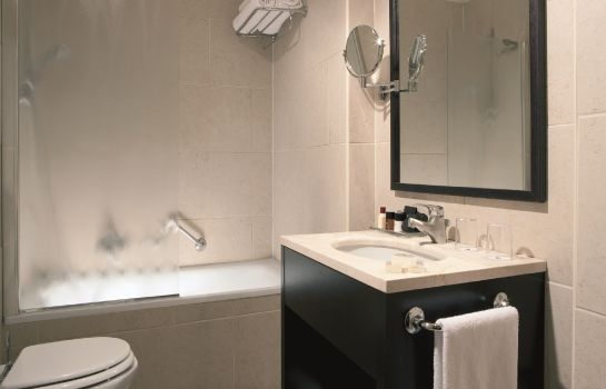 Bagno in camera Best Western Sant' Elena