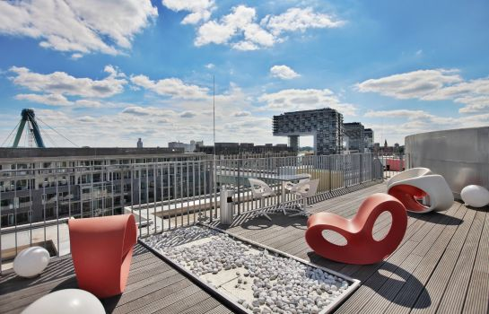 Terrasse art'otel cologne by park plaza