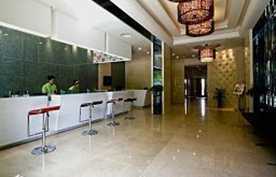 Reception Shanshui Boutique Hotel Chengdu Jiuyanqiao Branch