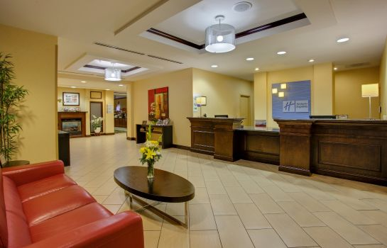 Hotelhalle Holiday Inn Express & Suites RALEIGH SW NC STATE