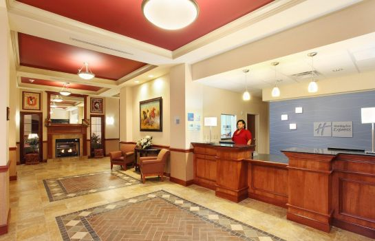 Hotelhalle Holiday Inn Express & Suites COLUMBUS UNIV AREA - OSU