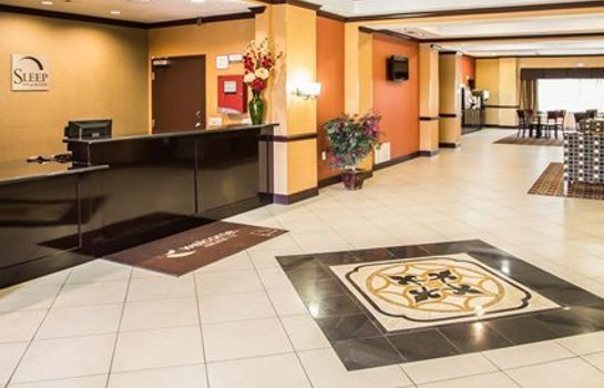 Hol hotelowy Sleep Inn & Suites University