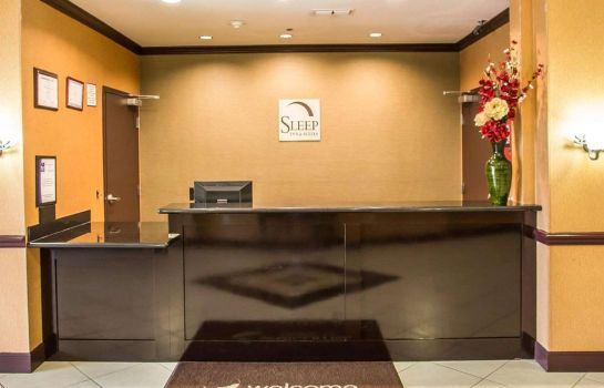 Vestíbulo del hotel Sleep Inn and Suites University
