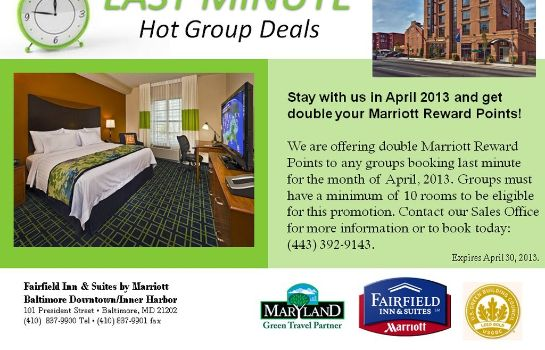 Information Fairfield Inn & Suites Baltimore Downtown/Inner Harbor