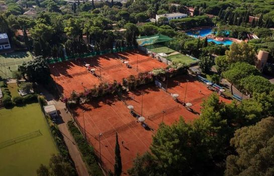Tennis court Forte Village Resort – Hotel Pineta