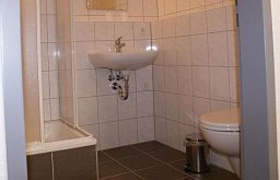 Bagno in camera Hostelbar