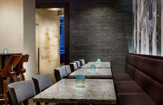 Restaurant Distrikt Hotel New York City Tapestry Collection by Hilton
